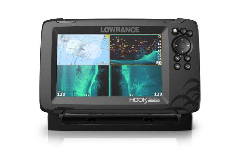 "Lowrance Hook Reveal 7"" TripleShot"